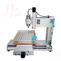 LY CNC 6040 Vertical Type Wood Router 3 /4 /5 Axis 2200W Spindle Motor Column Aluminum Engraving Milling Machine