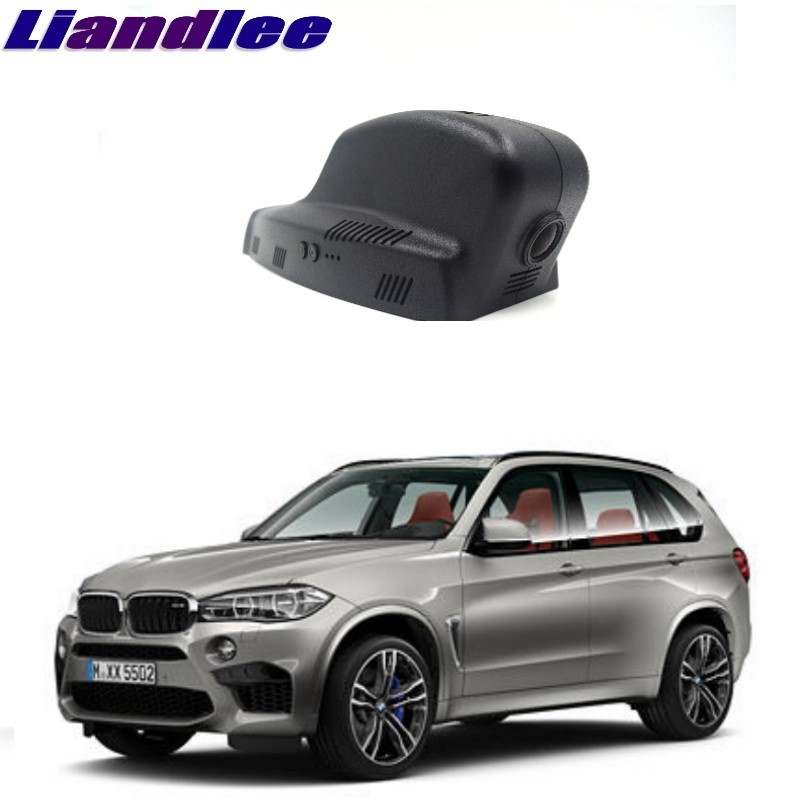 Liandlee For BMW X5 E70 MK2 2006~2013 Car Black Box WiFi DVR Dash Camera Driving Video Recorder цена