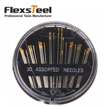 30pcs Assorted Hand Sewing Needles Embroidery Mending Darning Craft Quilt Sew Repair Tool Case