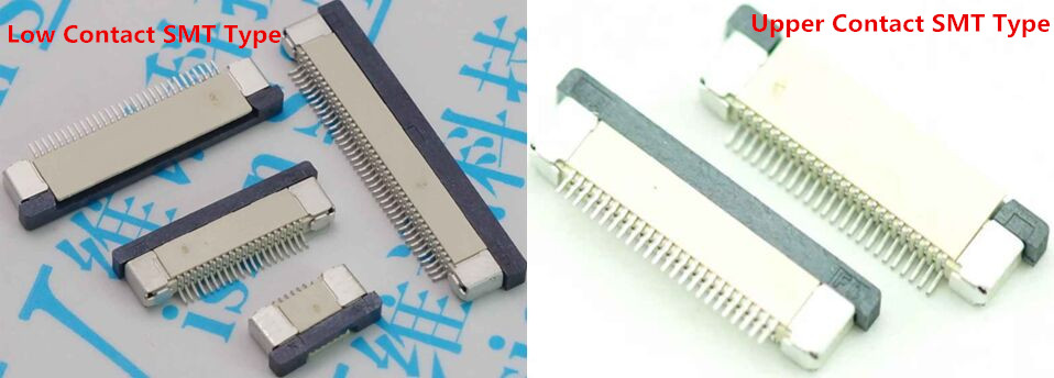 0.50mm (.020) Pitch FFC/FPC Connector, Right Angle, Drawer type SMT, ZIF, Bottom Contact Style, 10 Circuits,silver plated