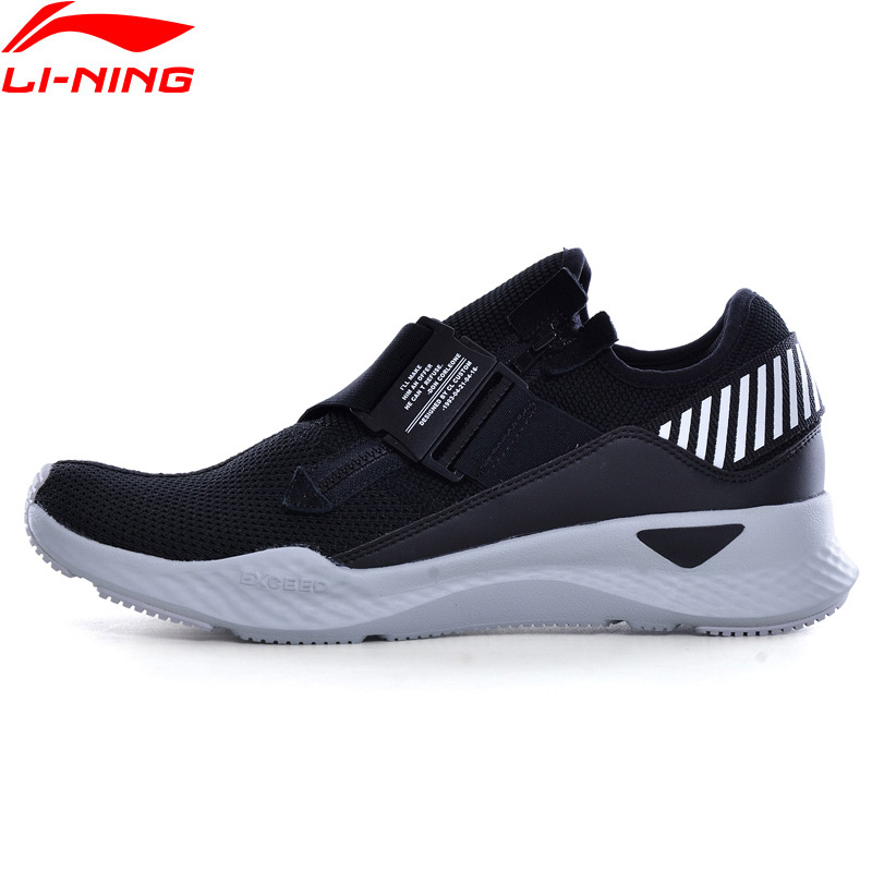 Li Ning Men Sports Life Lifestyle Shoes Breathable Comfort LiNing Zipper Sport Shoes Leisure Sneakers GLKN049