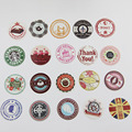 38 Pcs/set Creative Vintage Themes Stickers Adhesive Stickers DIY Decoration Stickers