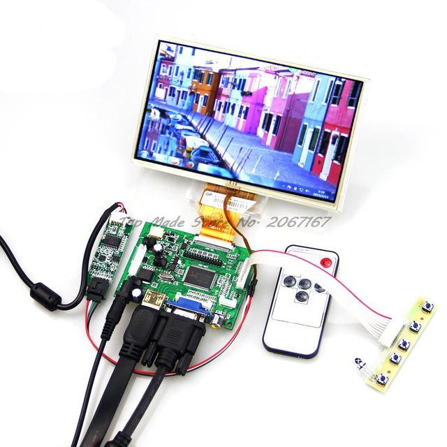 AT070TN90 AT070TN92 7'' INCH TFT LCD +TOUCH SCREEN+ HDMI  VGA AV A/D Board 800*480 Resolution  CAR PC Display Screen