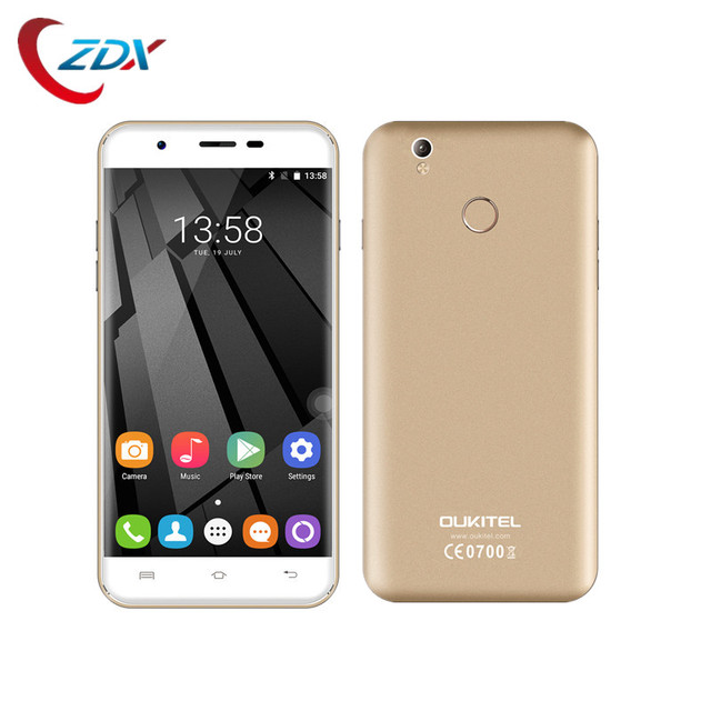 Original Oukitel U7 Plus/U7 Pro Unlocked Smartphone 5.5 inch Android 6.0 MT6737 Quad Core HD 2GB+16GB 4G LTE 13.0MP Fingerprint