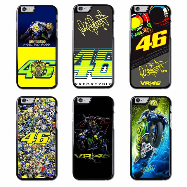 VALENTINO ROSSI MOTOGP VR46 Cover Case For iPhone 4S 5S SE 6S 7 8 9 Plus XR XS Max Samsung Note