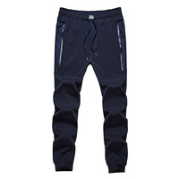 Spring Summer Loose Men S Sports Pants Brand Breathable Style Trousers Sweatpants Mens Joggers Gym Clothing