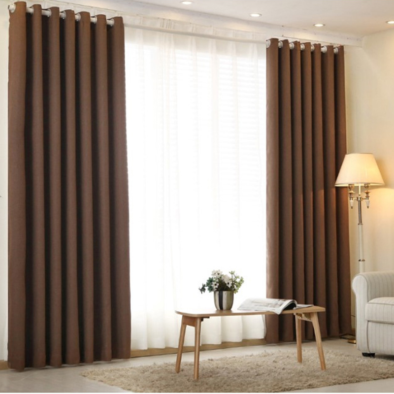 Curtains For Living Room Decorations Modern Twill Blackout Linen Bedroom  Sheer Luxury Curtains Short Curtains For Kitchen