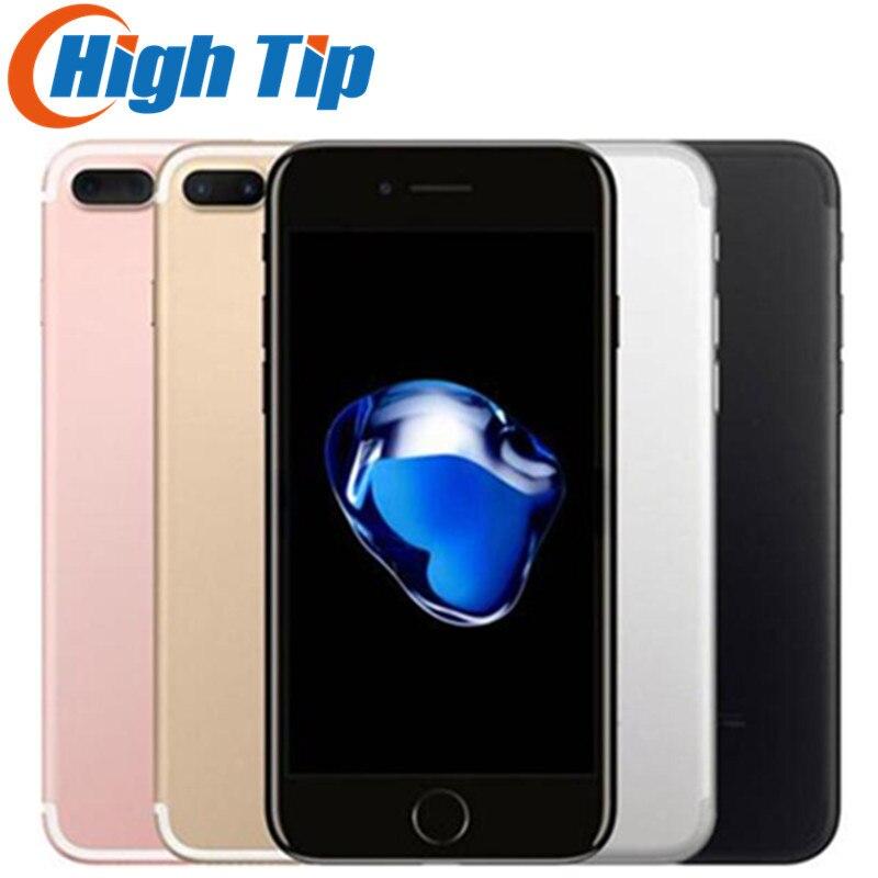 Original Apple iPhone 7 Plus LTE desbloqueado teléfono móvil 5,5 ''12.0MP 3G RAM 32G/128g/256G ROM Quad Core Fingerprint teléfono celular