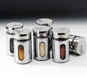 Hot Sale 2pcs/lot Kitchen Cruet Soy Sauce Bottle Potes Condiment Bottles Spice Jar Glass Stainless Steel