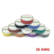 Здесь можно купить   50m 26 AWG Flexible Silicone Wire RC Cable Line With 5 Colors to Select With Spool Pacakage 1 or Pacakage 2 Electrical Equipment & Supplies