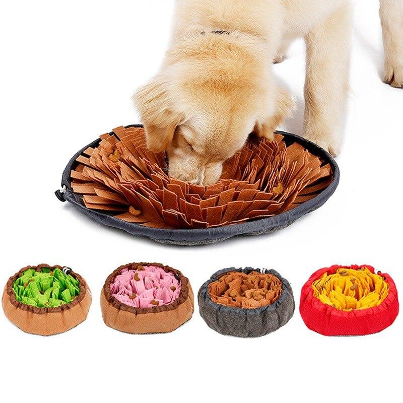 Pet Spielzeug Hund Sniffing Matte Haustier Puzzle Spielzeug Sniffing Ausbildung Pad Aktivität Decke Fütterung Matte Hund Release Stress Ausbildung Decke