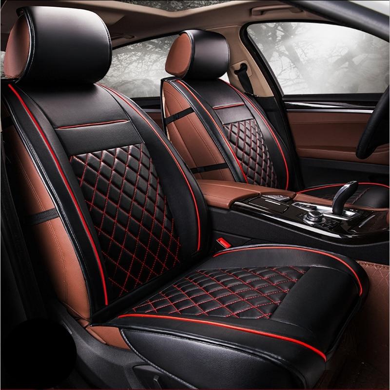 Coupe Beige & Black Split Bench Car Seat Covers for Honda Accord Sedan Trim Vintage Car & Truck Parts
