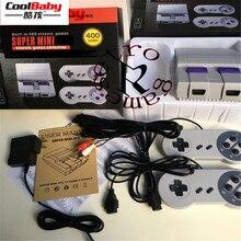 Nova versão TV Vídeo Game Console Handheld Do Jogo Consola de Jogos Clássicos Criada Em 400 Diferentes Jogos PAL & NTSC dual gamepad