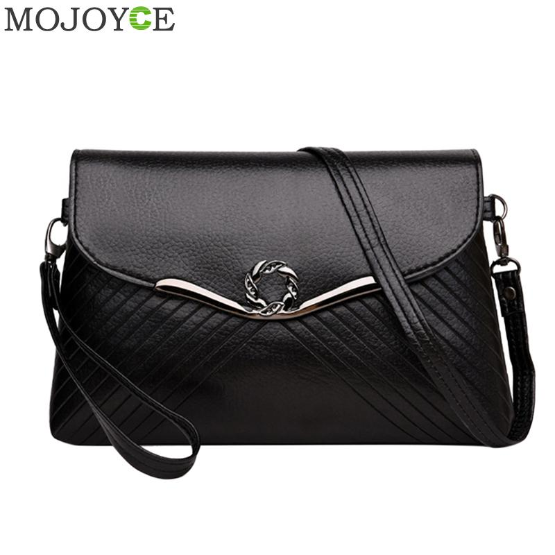Simple Women PU Handbags Fashion Designer Crossbody Bags for Women Clutch Bag Evening Party Shoulder Bags Female Messenger Bag