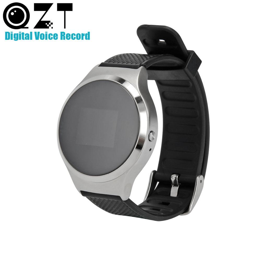 8 GB/16 GB 4 en 1 enregistreurs vocaux numériques poignet montre bracelet enregistrement Audio d'entreprise Dictaphone MP3 enregistreur sonore