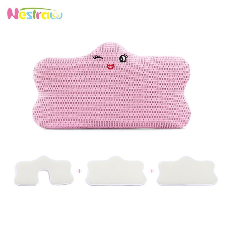 Nestraw Baby Pillow 4 In 1 Height Adjustable Sleep