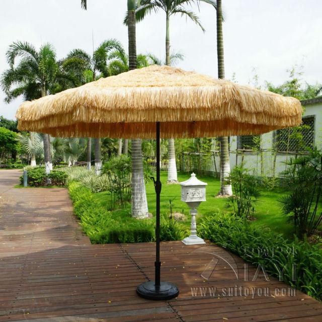 3 Meter Patio Umbrella Garden Parasol Outdoor Furniture Covers Sunshade For Christmas Decor