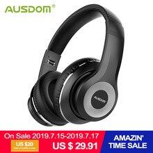 Ausdom ANC10 беспроводные наушники Bluetooth 5,0 с микрофоном беспроводная bluetooth-гарнитура наушники с активным шумоподавлением