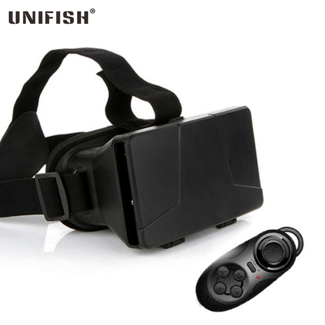 Xiaozhai 1S Google Cardboard Virtual Reality VR 3D Glasses For iPhone 6 Plug for Samsung S5 VR 3D Glasses + Bluetooth Controller