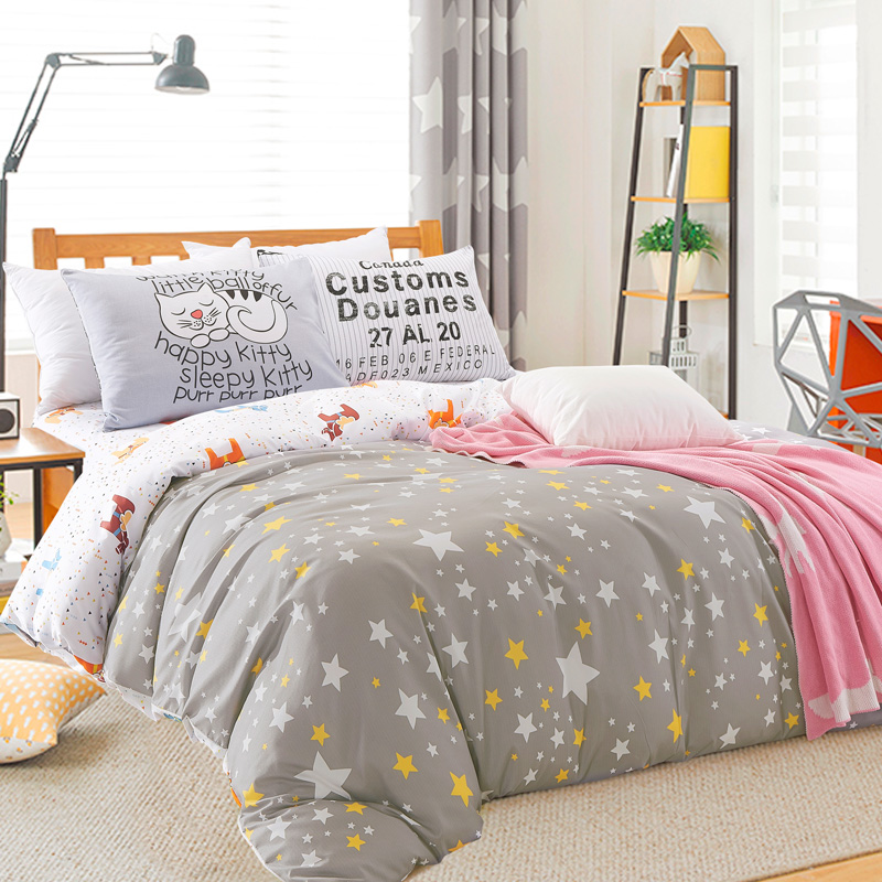 popular star comforter buy cheap star comforter lots from china star comforter suppliers on. Black Bedroom Furniture Sets. Home Design Ideas
