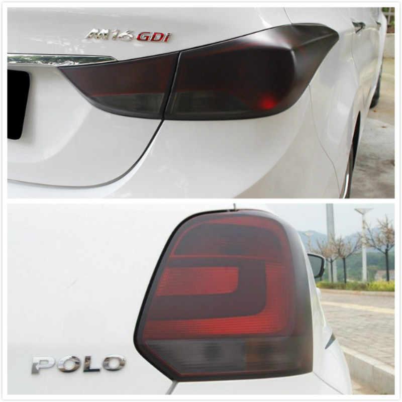 車フォグランプヘッドライトテールランプティントフィルムステッカー Vw ポロゴルフ 4 5 6 7 GTI パサート b5 B6 ジェッタ MK5 MK6 CC EOS トゥアレグカブトムシ