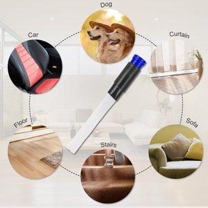 Image 5 - Brosse universelle à poussière sous vide livraison directe, outils dattachement de nettoyage avec Tube souple