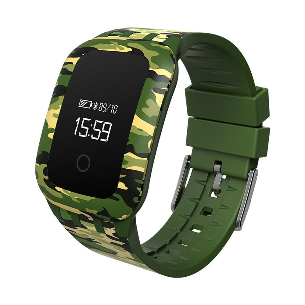 Meilleur Prix Smart clock montres Militaire camouf Sport Étanche Bluetooth smartwatch Téléphone Compagnon Pour Android POUR IOS 2mar7