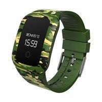 Najlepsza Cena camouf zegar Inteligentne zegarki Wojskowe Sport Wodoodporny Bluetooth smartwatch Telefon Mate Dla Android IOS 2mar7