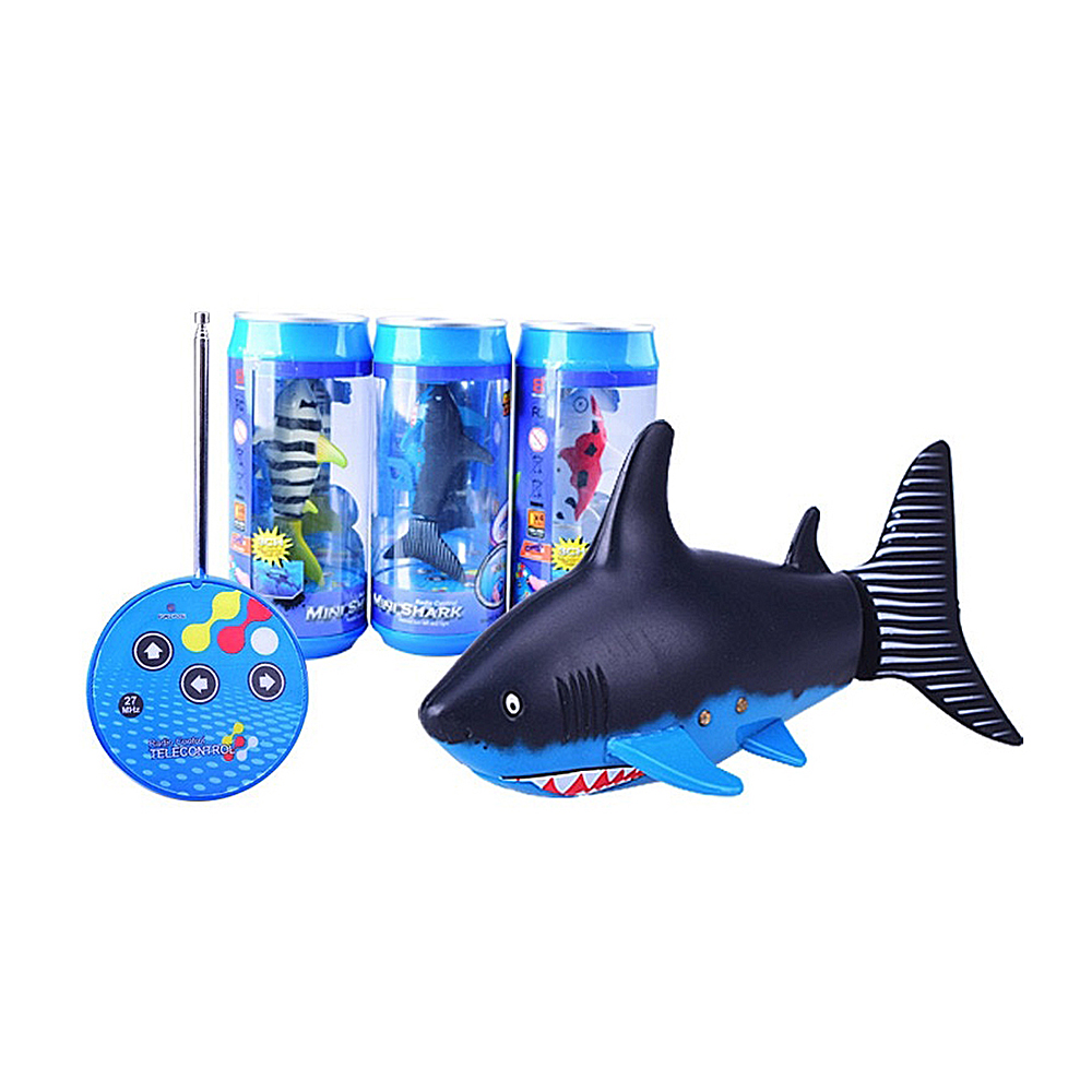 Mini RC Submarine 4 CH Remote Small Sharks Remote Control Toy With HOT NN CR