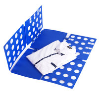 Adjustable High quality Quality Clothes Folder T Shirts Jumpers Organiser Fold Save Time Quick Clothes Folding Board