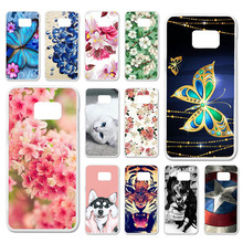 TAOYUNXI Cases For Samsung Galaxy S7 Edge Duos G935F Case Soft Silicone TPU Back Covers 5.5 inch Painted Bags Skins Shell