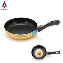 Wulekue Aluminum Alloy Mini Non-stick Pot Frying Pan For Eggs Crepes Breakfast Cooking Tool Kitchen Accessories