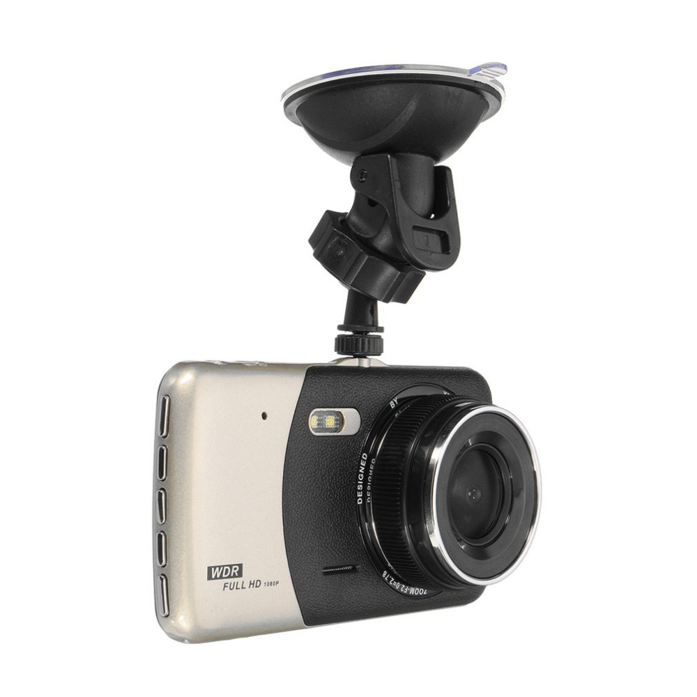 Newest 4-Inch Display Car DVR Full HD 1080P Car Recorder 170-Degrees Tachograph Video Dash Cam Video Recorder Support G-Sensor