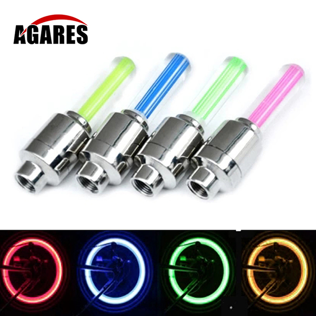 LED Bicycle Lights Wheel Tire Valve's Bike Light Cycling Riding Sport Spoke Safety Warning Lamp Front lights Taillight SA-7