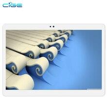 Cige 10 дюймов Octa core 3 г 4 г LTE tablet pc 4 ГБ Оперативная память 64 ГБ Встроенная память Android 6.0 GPS Dual SIM двойной Камера 8.0MP IPS 1920*1200 таблеток