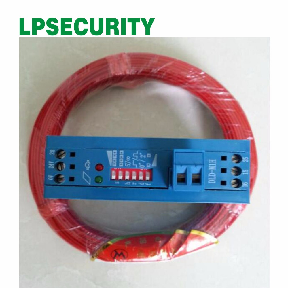 100m Roll ground sensor wire with 12V 24V Single Channel Metal Detector Vehicle Loop Detector barrier