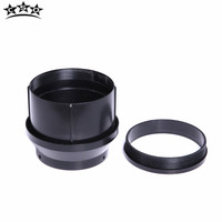 CSO Telescope Accessories Lente telescopio 90MM Objective Lens Holder And Clamping Ring Refrator ABS Plastic Telescope Mirror