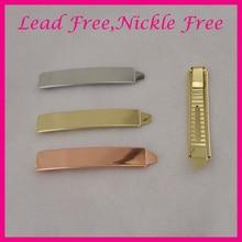 2 шт 1,3 см* 7,2 см блестящие простые металлические шпильки для волос для девушек заколки для волос для женщин и девушек свадебные шпильки для волос не содержит свинец и никель