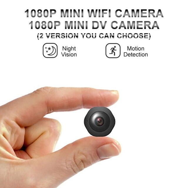 Mini caméra de surveillance extérieure ip Wifi H6, dispositif de sécurité sans fil hd, avec résolution nocturne, enregistrement vocal et vidéo