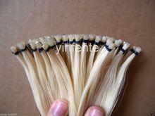 10 hank 72-75cm bow horse hair Tail natural white mongol Free Shipping