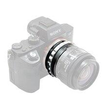 حلقة محول عدسات كاميرا K & F لـ Nikon G Mount Lens إلى Sony E NEX a5000 A7II A7R a6400 a73 a7R3