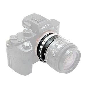 Image 5 - K & F adaptador con tapa de lente para Nikon G lente de montaje a Sony E NEX a5000 A7II A7R a6400 a73 a7R3
