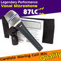 Professional Beta87C XLR Wired Stage Handheld Vocal Karaoke Microphone For Beta 87C 87 C BETA87A BETA 87A BETA 87 Mic Microfone
