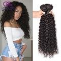 8A Indian Deep Wave 3 Bundles Indian Deep Curly Virgin Hair Raw Indian Hair Weave Bundles Deep Curly Human Hair Extensions
