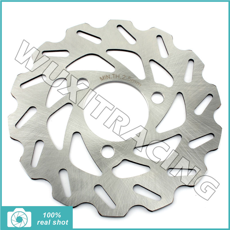 Front ATV Quad Dirt Bike Brake Disc Rotor for Honda TRX 250 300 400 R X Fourtrax EX Sportrax 88-08 TRX 450 R/ER TRX 700 XX 04-11 atv quad front brake disc rotor for polaris 500 sportsman efi quad h o 600 4x4 700 mv x 2 800 ntl ho touring big boss 6x6