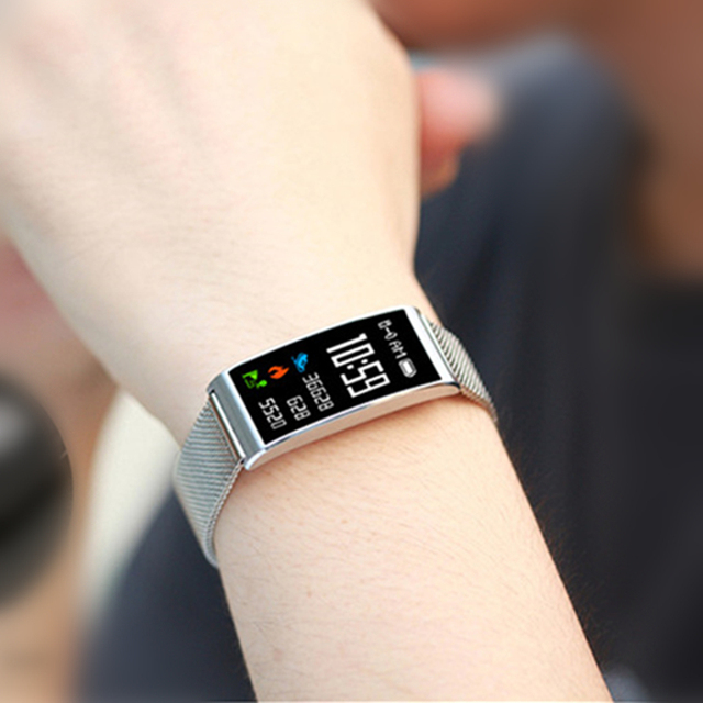 IP68 Waterproof Smart Fitness Bracelet GPS Tracker Pedometer Smart Watch Women Android reloj mujer relogio feminino clocks saati