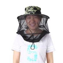 Защитная маска от комаров для защиты от насекомых, насекомых, пчел, головная сетка, сетка для кемпинга, пеших прогулок, садоводства, пчел