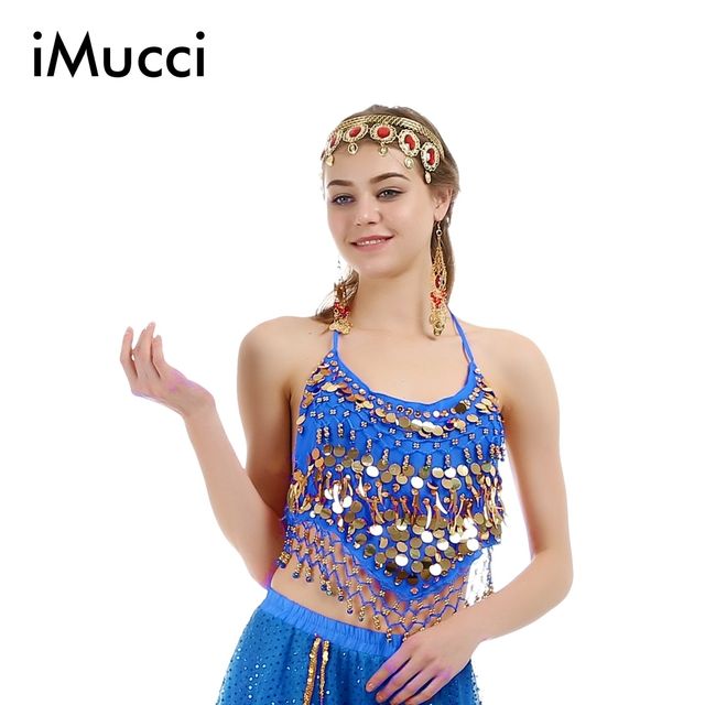 5657c844c562 iMucci 5 Colors Little Pepper Sleeveless Child Girl Belly Dance Top ...