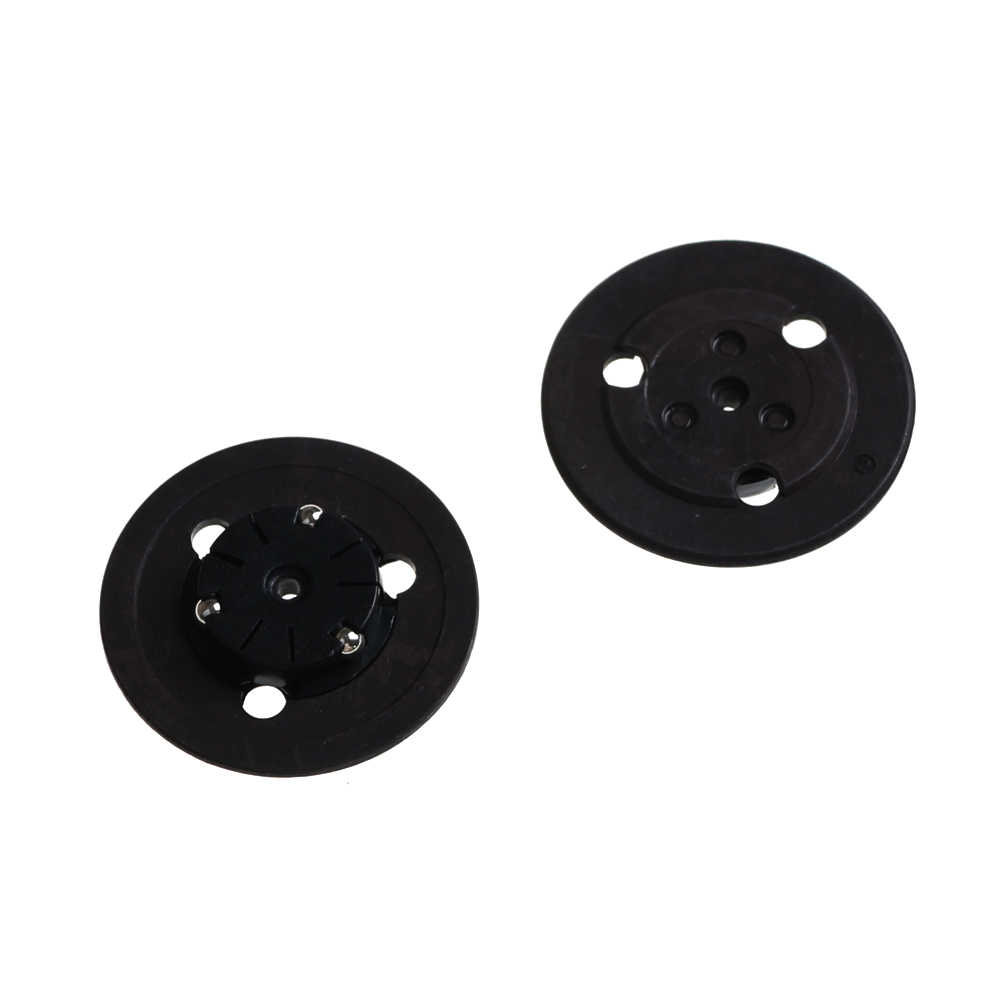 2Pcs/set Spindle Hubs Replacement Spindle Hub CD Holder Repair Parts For PS1 PSX Laser Head Lens