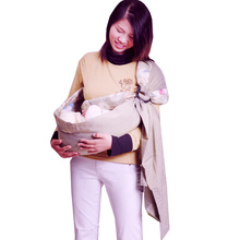 Хлопковая ткань, дышащая детская переноска с кольцами, мягкая детская накидка для новорожденных, лучший подарок для девочек и мальчиков